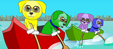 Play Canoe Puppies